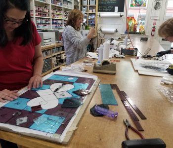 Beginner/Intermediate Stained Glass Course (Tuesday Evenings)