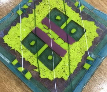 Fused Glass Plate/Bowl Workshop